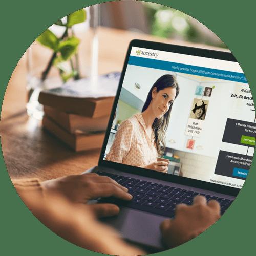 Recherchieren Sie für Ihre Ahnenforschung online