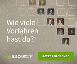 Wie viele Vorfahren hast du?